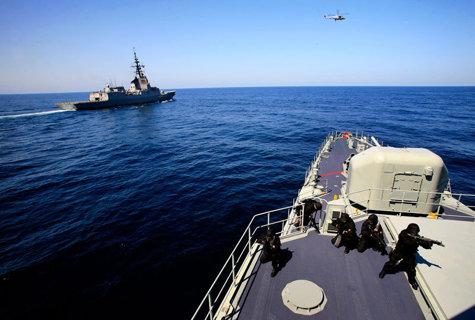 Noi exerciţii militare comune antirachetă efectuate de Coreea de Sud, SUA şi Japonia