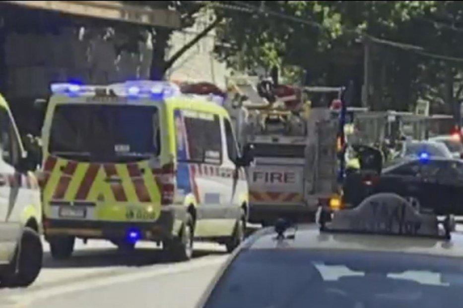 Incident în Melbourne. O maşină a intrat în plin în pietoni. Cel puţin 19 oameni au fost răniţi