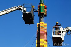 Povestea tristă din spatele celui mai înalt turn Lego din lume