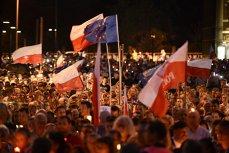 Protest mut în Polonia, faţă de politizarea justiţiei
