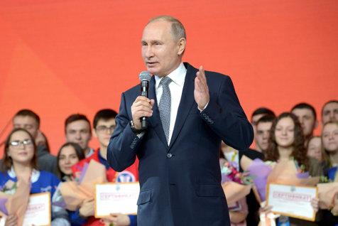 Putin, ironic, se declară