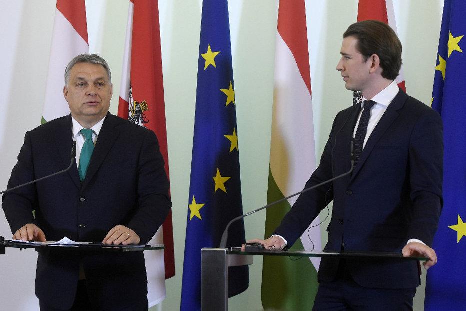 Sebastian Kurz, de acord cu Viktor Orban privind migraţia ilegală, dar nu vrea să alăture Austria Grupului de la Vişegrad