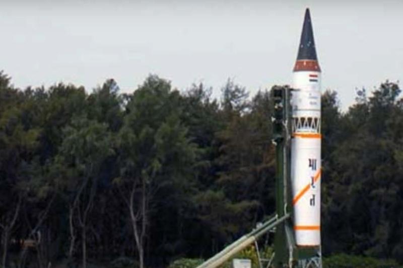 India a testat o rachetă capabilă să transporte focoase nucleare, pe fondul tensiunilor cu Pakistanul