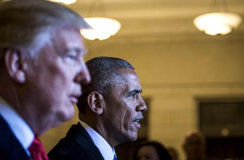 Obama îl critică pe Trump pentru că nu face nimic în domeniul legislaţiei armelor de foc