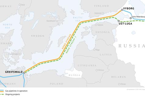 Polonia avertizează:  Proiectul gazoductului Nord Stream 2 riscă să genereze război între Rusia şi Ucraina