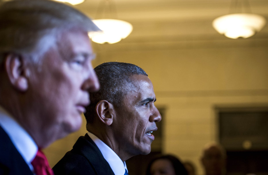 """Trump, acuzaţii dure la adresa lui Obama:"""" A vrut discreditarea mea, astfel încât escroaca H să câştige"""