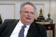"""Ministrul de Externe al Greciei, vizat de o nouă scrisoare de ameninţare. """"Avem trei gloanţe pentru tine"""""""