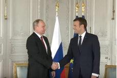 Reacţia lui Emmanuel Macron, după ce Vladimir Putin a fost reales preşedinte al Rusiei