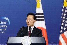 Fostul preşedinte sud-coreean Lee Myung Bak a fost arestat pentru fapte de corupţie