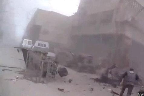Trei jurnalişti ruşi, răniţi într-un atac cu obuze produs în Siria