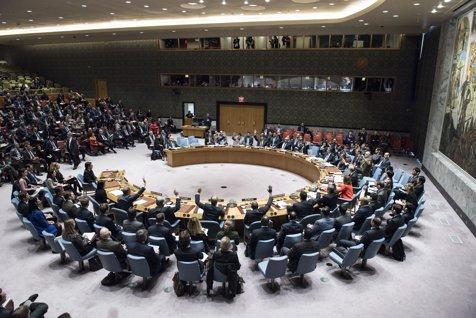 """Lovitură pentru Rusia. Consiliul de Securitate al ONU a respins proiectul de rezoluţie de condamnare a atacurilor din Siria. Singurele trei ţări care au votat """"pentru"""""""
