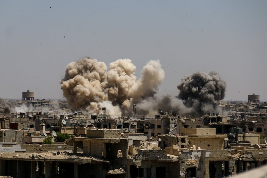 ÎNAINTE şi DUPĂ. Cum arată ţintele din Siria după atacul cu rachete al SUA, Marii Britanii şi Franţei. Imagini din satelit