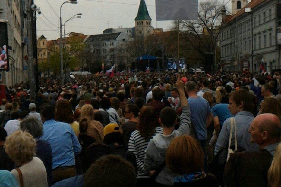 Proteste masive în Slovacia: mesaj tranşant al zecilor de mii de protestatari