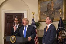 Ce spune Donald Trump despre întâlnirea dintre directorul CIA Mike Pompeo şi Kim Jong-un