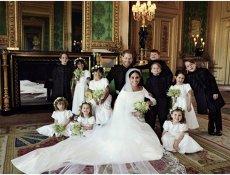 Fotografiile oficiale de la nunta regală, publicate. Ce mesaj au transmis Prinţul Harry şi Meghan Markle FOTO