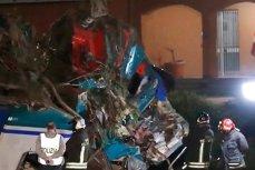 Un român a murit în accidentul feroviar de lângă Torino. Un tren s-a ciocnit cu un camion lituanian VIDEO