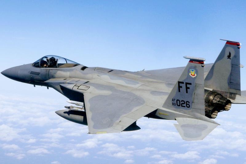 Un avion militar american F-15C s-a prăbuşit în Japonia