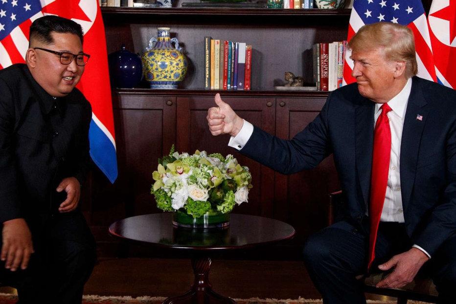Donald Trump susţine că Coreea de Nord nu mai reprezintă o ameninţare nucleară