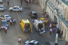 Dezvăluiri din anchetă, despre şoferul de taxi care a lovit un grup de suporteri, în Moscova. Ce au aflat medicii ruşi