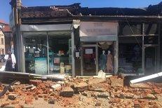 Scene dramatice în Londra: acoperişul unui magazin s-a prăbuşit peste clienţi. VIDEO