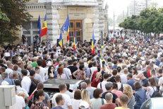 Proteste în Chişinău după anularea scrutinului local