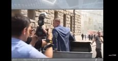 Andrei Rudenko, viceprimar Harkov Ucraina aruncat în tomberon