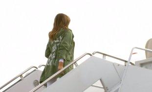 """Melania Trump, mesaj pentru presă: """"Chiar nu-mi pasă! Vouă?"""""""