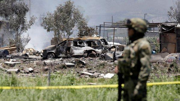 Explozii la un depozit de artificii în Mexic