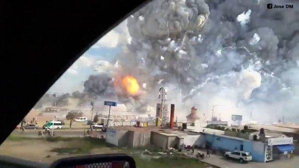 A doua explozie de la depozitul de artificii, Mexic