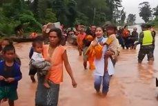 Cel puţin 19 oameni AU MURIT după prăbuşirea unui BARAJ în Laos