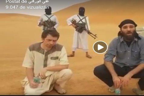 Primele imagini VIDEO cu românul răpit în Libia. Ce solicită TERORIŞTII de la guvernul român. MAE: verificăm, în regim de URGENŢĂ, autenticitatea materialului