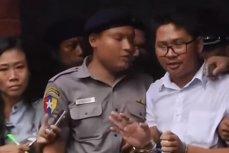 Doi jurnalişti REUTERS au fost condamnaţi la ŞAPTE ANI de închisoare în Myanmar, după ce au colectat dovezi privind EXECUŢIA unor militanţi. Reacţia UE