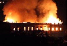 Pagini din istoria omenirii S-AU FĂCUT SCRUM. Exponate inestimabile, distruse în incendiul Muzeului Naţional al Braziliei