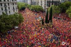 UN MILION de oameni în stradă de ziua naţională a CATALONIEI