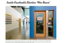 Facebook lansează WAR ROOM: Centrul de COMANDĂ pentru MONITORIZAREA ştirilor şi a conturilor FALSE prin care s-ar urmări MANIPULAREA alegerilor