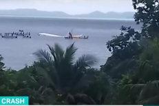 Un avion de pasageri S-A PRĂBUŞIT în Oceanul Pacific. TOŢI oamenii de la bord au supravieţuit în mod miraculos