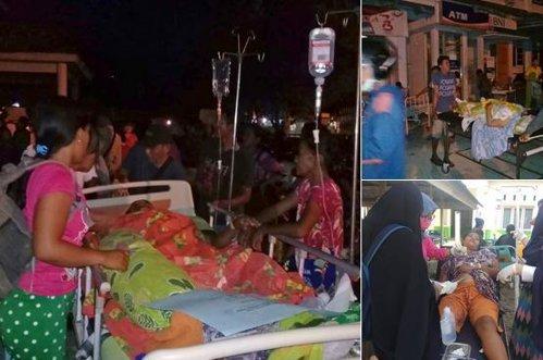 TSUNAMI devastator în Indonezia, după cu CUTREMUR de 7,5 grade
