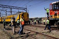 Două trenuri S-AU CIOCNIT în Johannesburg: 320 de răniţi