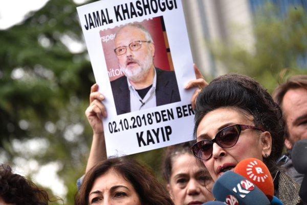 Protest pentru aflarea adevărului despre dispariţia lui Jamal Khashoggi