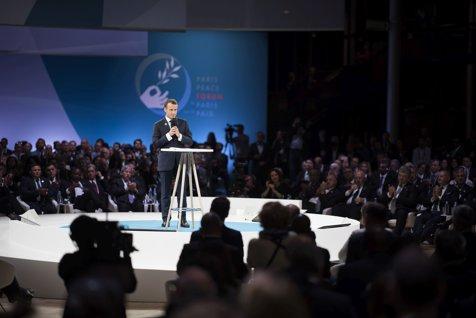 GAFA lui Macron despre naţionalism. Europa Occidentală CONFUNDĂ lecţiile Primului Război Mondial cu adevăruri universale