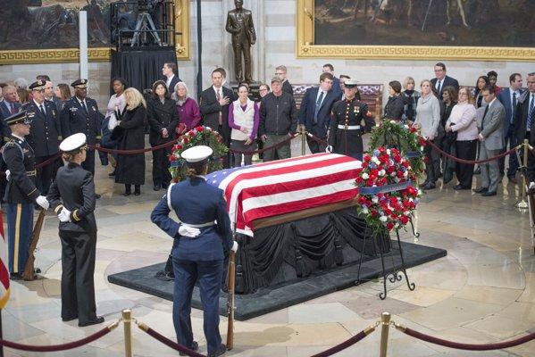 Funeraliile lui Georrge H.V. Bush