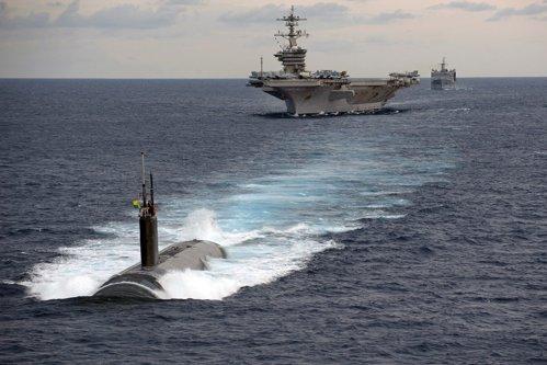Întâmplare rară: Un grup naval al marinei americane a fost trimis în misiune fără cel mai important element / S-a mai întâmplat o singură dată, în 2013