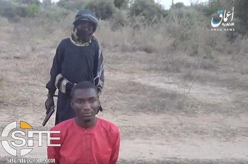 """Prizonier ISIS, executat de un copil. """"Nu ne vom opri până ce nu răzbunăm tot sângele vărsat"""""""