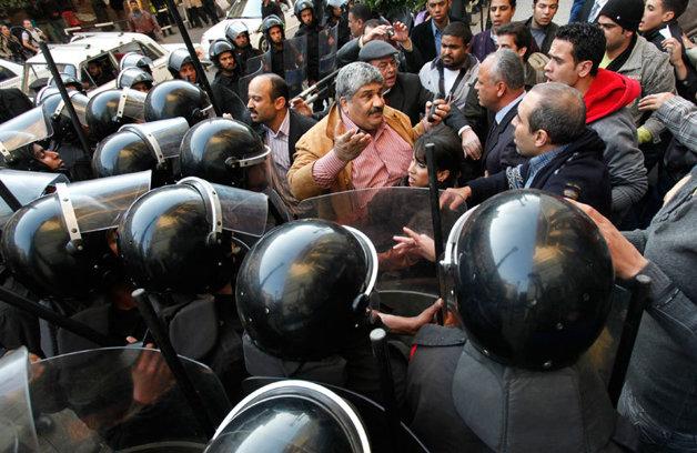 cazua protestelor din Egipt