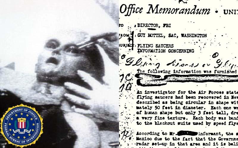 FBI a dat publicităţii 2.000 de documente despre OZN-uri şi fiinţele descoperite la bordul farfuriilor zburătore: