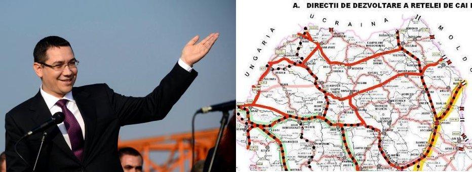"""MASTERPLANUL gogoşilor de campanie: 22 de autostrăzi până în 2030. Premierul Ponta anunţă o victorie de etapă: Comarnic-Braşov intră pe """"procedură specială"""""""