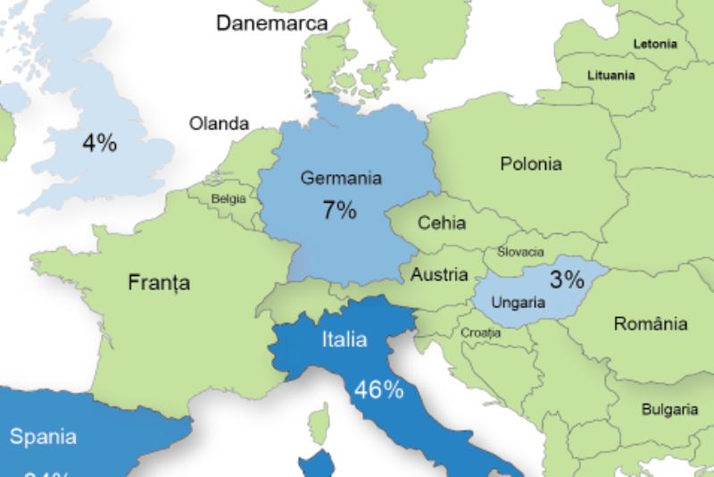 HARTA EMIGRAŢIEI. Câţi români au plecat din ţară în ultimii 25 de ani. TOPUL destinaţiilor preferate