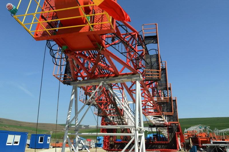 Chevron a început explorarea gazelor de şist la Pungeşti