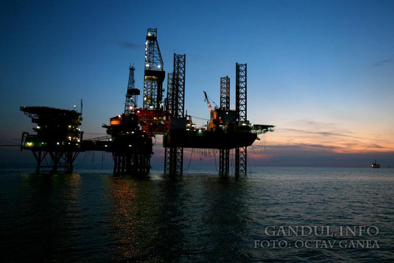 ExxonMobil şi OMV Petrom au început noi lucrări de foraj pentru explorare în Marea Neagră