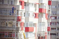 Aproape 42.600 locuinţe au fost terminate anul trecut. Statul a construit mai puţine locuinţe faţă de 2013